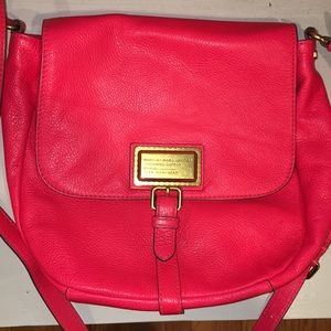 Marc by Marc Jacobs Neon Pink Large Crossbody Bag